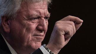Flüchtlingsstreit stürzt Union ins Chaos: Söder zündelt, Bouffier warnt