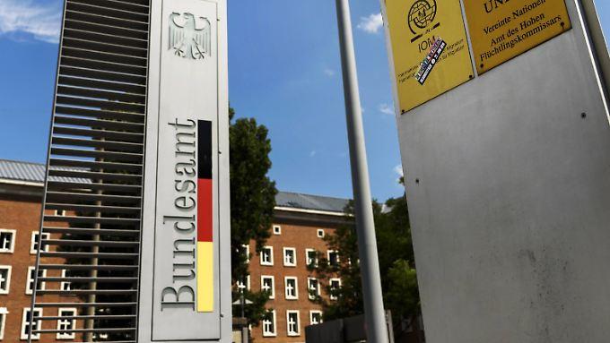 Der Hauptsitz des Bundesamtes für Migration und Flüchtlinge (Bamf) befindet sich auf dem Gelände der ehemaligen Südkaserne in Nürnberg.