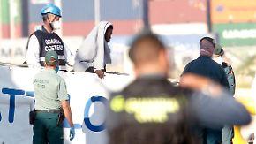 """Flüchtlingsdrama auf dem Meer: """"Aquarius"""" erreicht Valencia"""