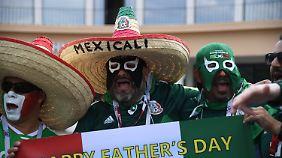 """Mexikanische Fans sollen bei Aktionen der Deutschen """"Puto"""" gerufen haben - eine homophobe Beleidigung."""
