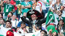"Lieber ""Putin"" als ""Puto"": Mexiko-Fans beleidigen DFB-Elf homophob"