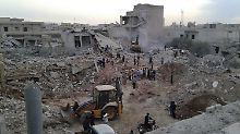 USA dementieren Beteiligung: Dutzende Tote bei Luftangriff in Syrien
