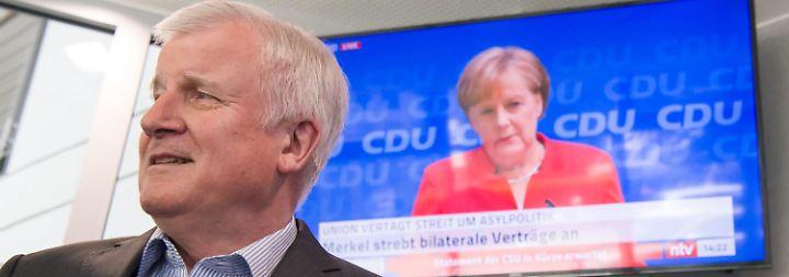 Europäische Lösung in zwei Wochen?: Unionsparteien verschaffen sich Atempause im Asylstreit