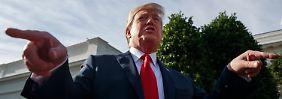 Donald Trump legt im Zollstreit mit China nach.