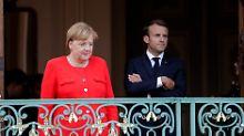 Einigkeit bei Asyl und Reformen: Macron stellt sich hinter Merkel