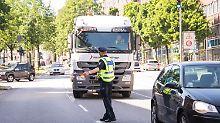 Ab sofort wird's teuer: Polizei kontrolliert Diesel-Fahrverbote