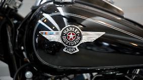 Harleys, Whiskey und Jeans: EU-Strafzölle treffen auch deutsche Händler