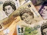 Der Börsen-Tag: Pfund klettert - Anleger wetten auf Zinsanstieg