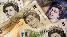Der Börsen-Tag: Furcht vor hartem Brexit: Pfund fällt auf 11-Monatstief