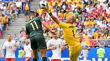 Schmeichel sei Dank: Dänemark erzittert Punkt gegen Australien