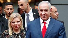 Betrugsvorwurf gegen First Lady: Sara Netanjahu speiste auf Staatskosten