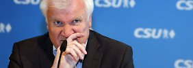 """Wo sind wir denn?"": Seehofer warnt Merkel vor Entlassung"