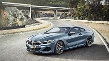 4,84 Meter misst das BMW 8er Coupé in der Länge.