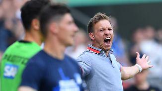 Beeindruckende Bilanz: Nagelsmann ist bester Trainer der Hoffenheimer BL-Geschichte