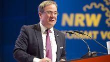 """""""Kommt nicht in Frage"""": Laschet: NRW-Grenzen bleiben offen"""
