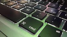 Kostenlose Reparatur für Macbook: Apple räumt Tastatur-Problem ein