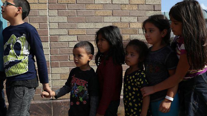 Die Trennung der Kinder von ihren Eltern hatte international für einen Aufschrei gesorgt.