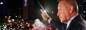 Auf dem Höhepunkt der Macht: Erdogan gewinnt Präsidentenwahl in der Türkei