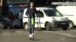 10 Minuten durch Paris für 2,50 Euro: E-Roller sollen Innenstädte erobern