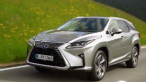 Hybrid-SUV mit viel Technik: Lexus will mit neuem RX 450h deutschen Markt erobern