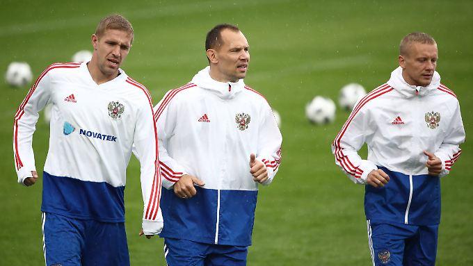 Russland bekommt viel Kritik für den Auftritt gegen Uruguay.