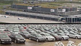BER wird zum VW-Parkplatz: Neuer Abgastest lähmt Autoindustrie