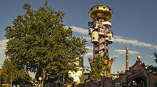 Alkohol und Kunst: It's a match!: Abensberg besäuft sich an Hundertwasser