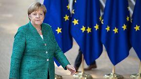 Gipfel der Entscheidungen: Für Merkel geht es in Brüssel um fast alles