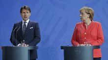 Italien blockiert EU-Gipfel: Sägt Conte am Stuhl der Kanzlerin?