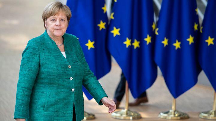 Kanzlerin Merkel reiste mit einer schweren Last auf ihren Schultern nach Brüssel, möglicherweise ist die Last nun etwas kleiner geworden.