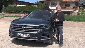 VWs agiler Kraftprotz: Touareg glänzt vor der Oper und im Gelände