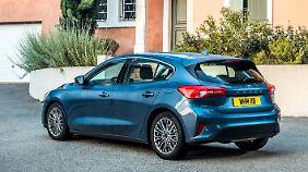Zunächst geht der Focus als Limousine und Kombi an den Start, später folgt das Active-Modell.