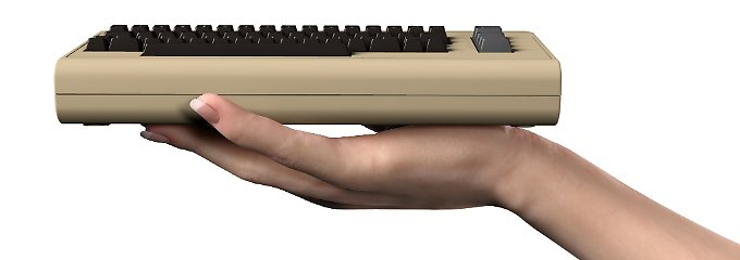 Der C64 Mini sieht wirklich aus wie ein kleiner Commodore 64.