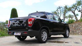 Im Bild die 4WD-Variante des Ssangyong Musso.