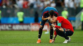 WM-Tag 18 in Bildern: Russland gewinnt Krimi, Iniesta dankt ab, Kroatien feiert