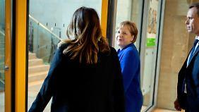 High Noon im Konrad-Adenauer-Haus: Merkel und Seehofer treffen sich zum entscheidenden Gespräch