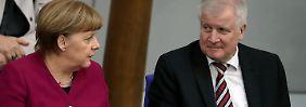 Seehofer will Ämter behalten: Union erzielt Durchbruch in Asylstreit