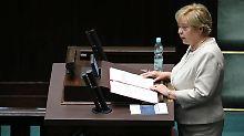 Malgorzata Gersdorf will am Mittwoch trotzdem ins Gericht gehen.