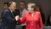 Asyl-Abkommen mit Deutschland: Orban signalisiert Bereitschaft