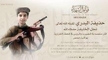 Gefechte im Kraftwerk von Homs: Sohn von IS-Chef Al-Bagdadi ist tot
