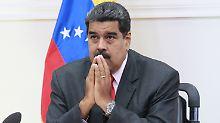 Angebliche Invasionspläne Trumps: Maduro ruft Armee zu Wachsamkeit auf