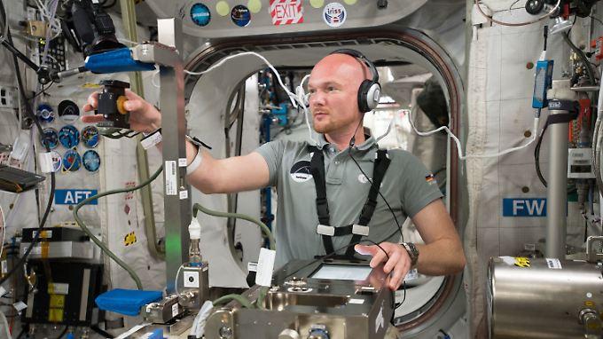Alexander Gerst ist bereits zum zweiten Mal auf der Interntionalen Raumstation.