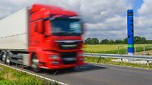 Einnahmenplus rund 50 Prozent: Höhere Lkw-Maut kommt - E-Laster fein raus