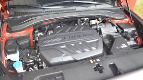 Der große 2,2-Liter-Diesel ist nicht neu, erfüllt aber die Euro 6d-Temp-Norm, die ab September 2019 verbindlich wird.