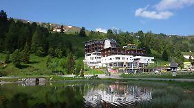 Viele Hotels auf dem Hochplateau der Turracher Höhe stehen in Seenähe.