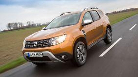 Der Dacia Duster, Liebling derer die kein Statement brauchen und nicht viel Geld für ein SUV ausgeben wollen.