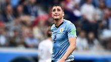 Als das Spiel noch lief: Die Tränen des José María Giménez