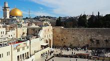 Nach Aufhebung des Verbots: Israelischer Minister besucht Tempelberg