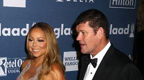 Foto aus besseren Tagen: Milliardär James Packer mit seiner Ex-Verlobten Mariah Carey.