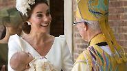 Familie und Freunde waren dabei: So feierte das Königshaus die Taufe von Prinz Louis
